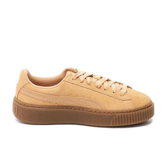 Puma Pantofi sport Suede Platform Animal de piele intoarsa, cu garnitura cu aspect piele de sarpe 1
