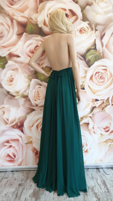 Rochie verde eleganta lunga Powder 2