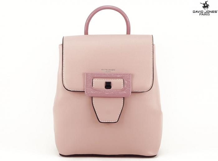 Rucsac dama roz de talie medie Avril 0