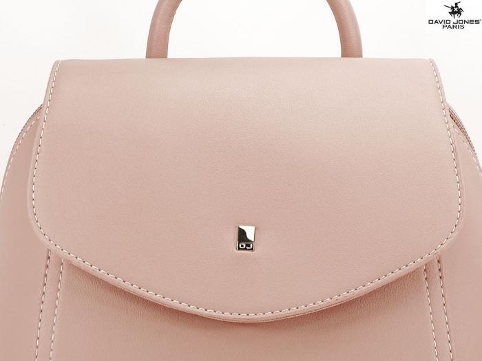 Rucsac roz dama de talie medie Ibiza 4