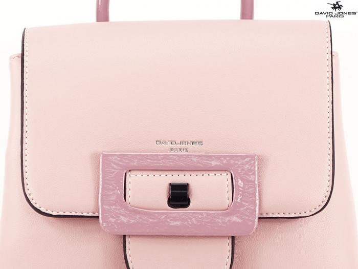 Rucsac dama roz de talie medie Avril 2