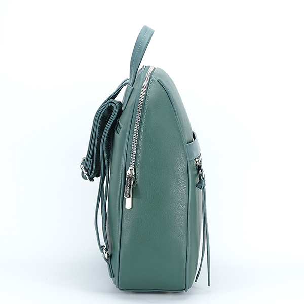 Rucsac verde inchis casual Cassie [4]
