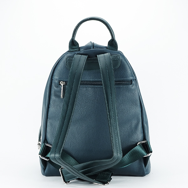 Rucsac verde inchis casual Cindy [4]