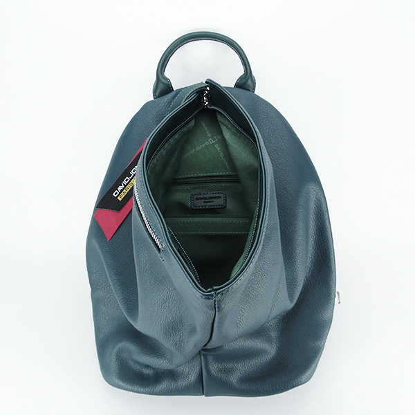 Rucsac verde inchis casual Cindy [3]