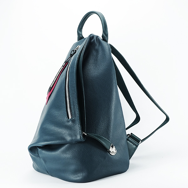 Rucsac verde inchis casual Cindy [2]