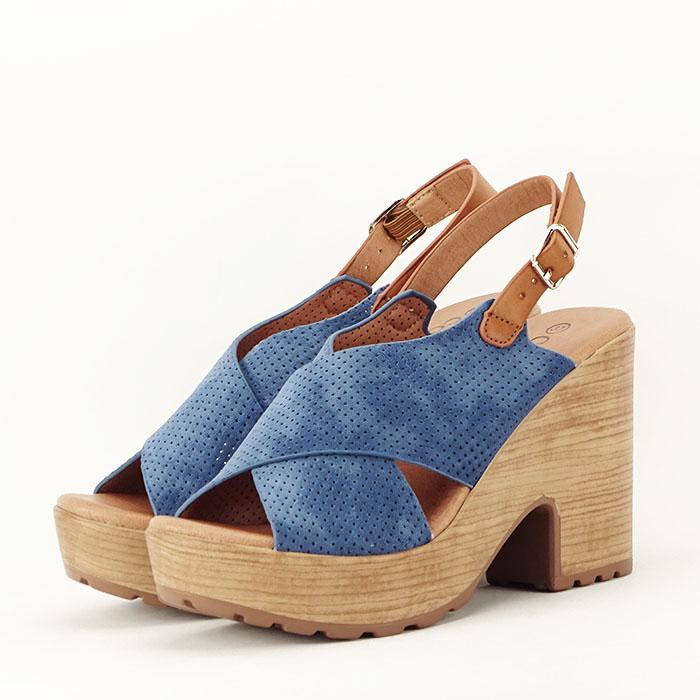 Sandale cu platforma Annabel 2
