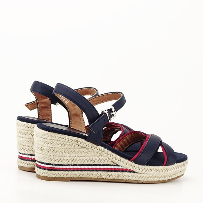 Sandale albastre cu platforma Clarissa [4]