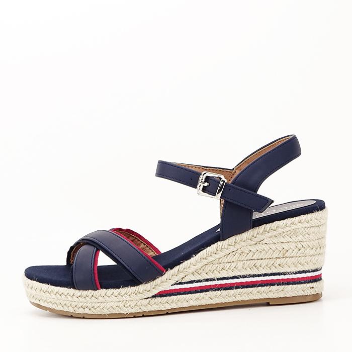 Sandale albastre cu platforma Clarissa [1]