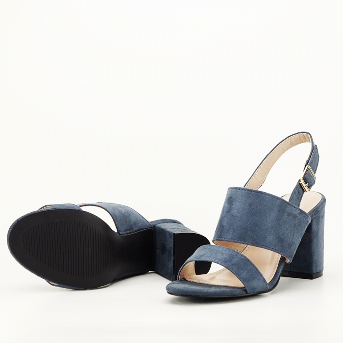 Sandale albastru petrol cu tot comod Paloma 5