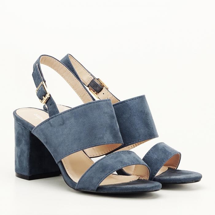 Sandale albastru petrol cu tot comod Paloma 6
