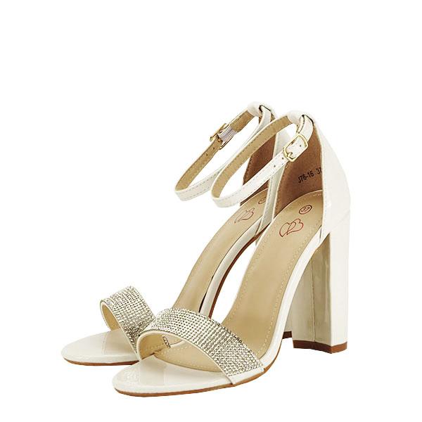 Sandale albe Diana [1]