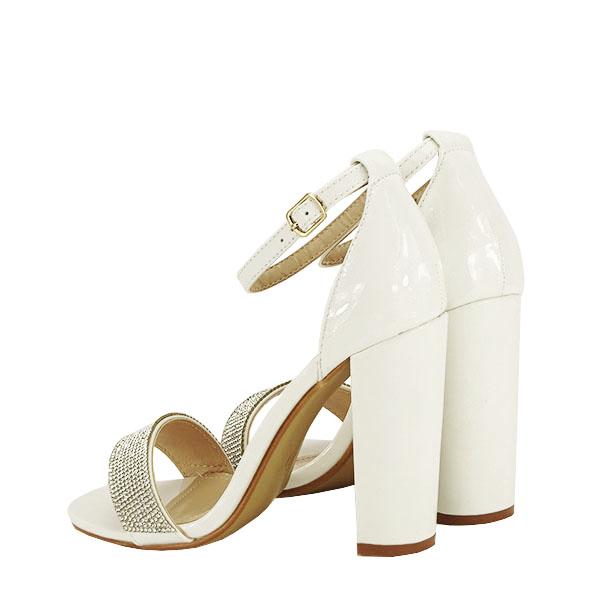 Sandale albe Diana [6]