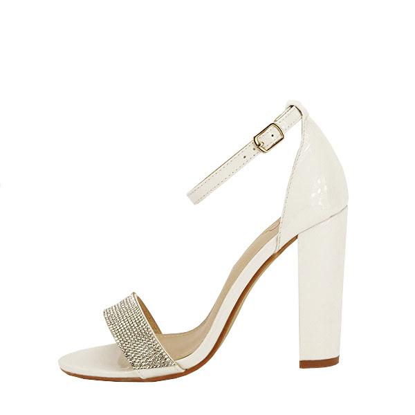 Sandale albe Diana [0]
