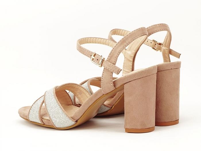 Sandalele elegante bej Carmen 5