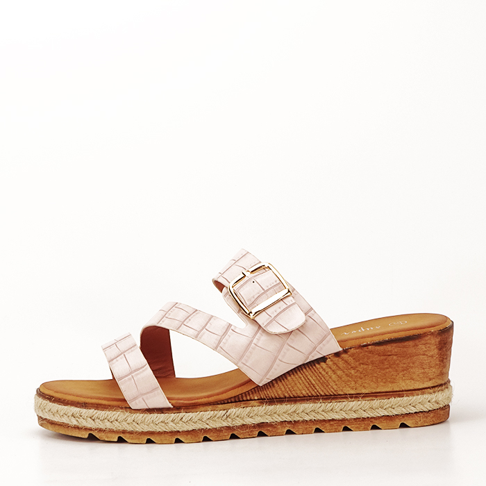 Sandale bej cu platforma Florida [1]