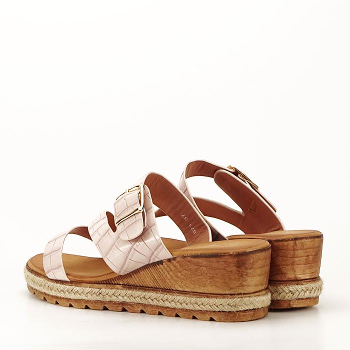 Sandale bej cu platforma Florida [3]