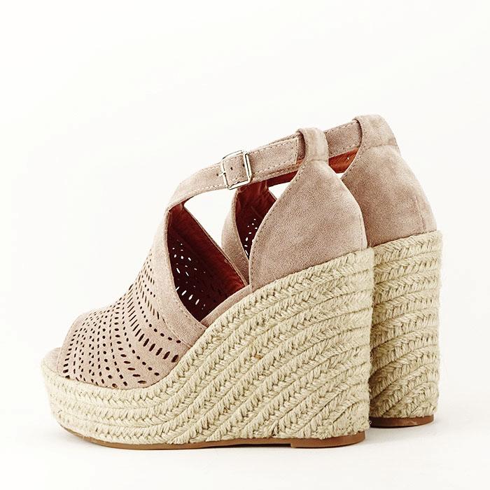 Sandale bej cu platfoma Jasmine [5]