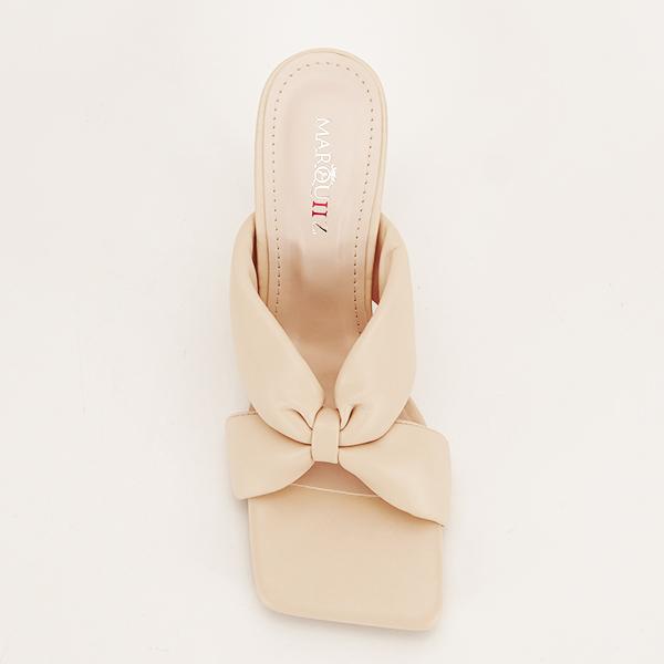 Sandale bej cu toc Sonia [6]