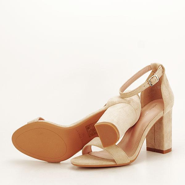 Sandale bej elegante Sabina [7]