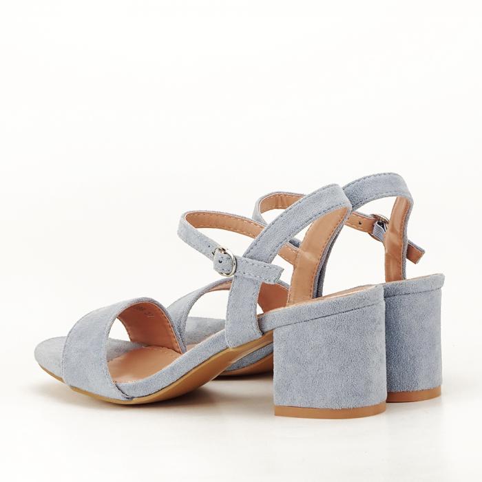 Sandale blue cu toc mic Vanesa [5]