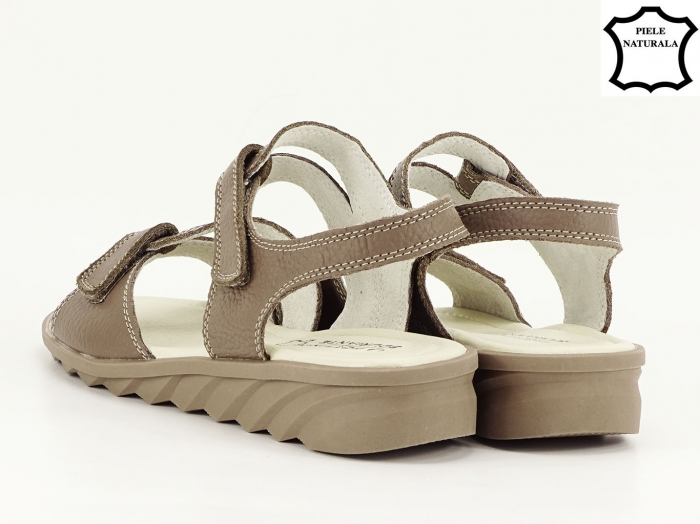 Sandale dama kaki din piele naturala Iasmina 6