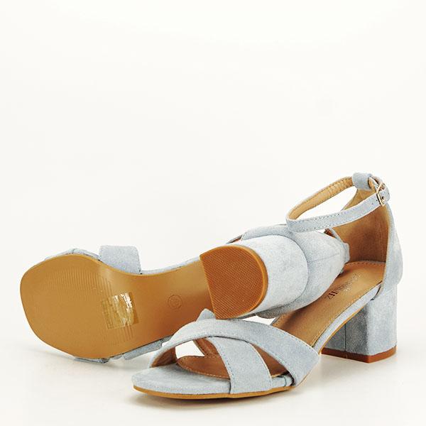 Sandale elegante albastre Lidia [7]
