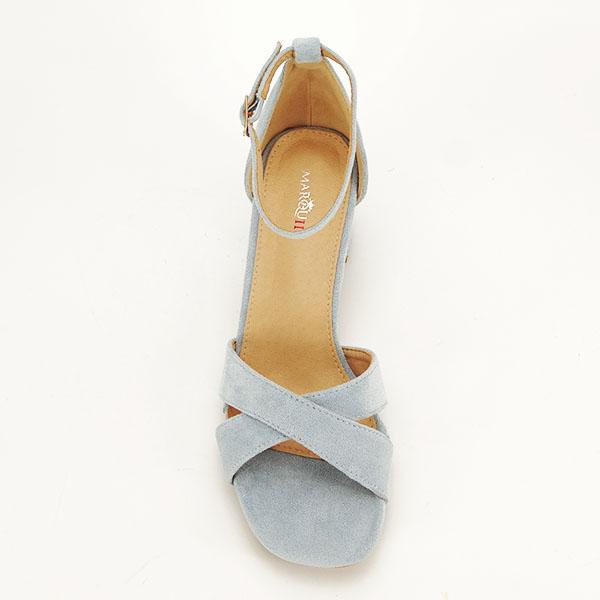 Sandale elegante albastre Lidia [6]