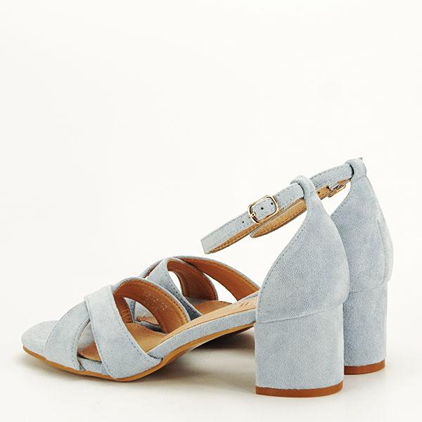 Sandale elegante albastre Lidia [3]