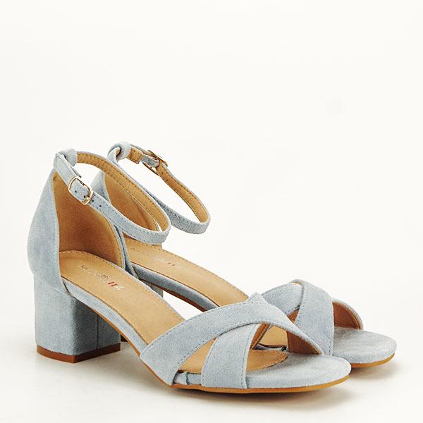 Sandale elegante albastre Lidia [2]