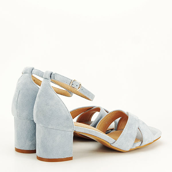 Sandale elegante albastre Lidia [4]