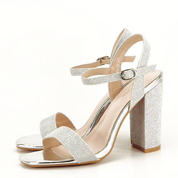 Sandale elegante argintii Estera [1]