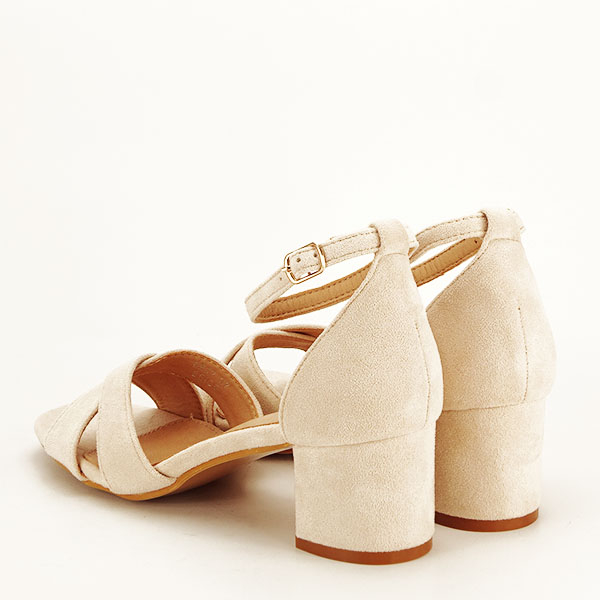 Sandale elegante bej Lidia [3]