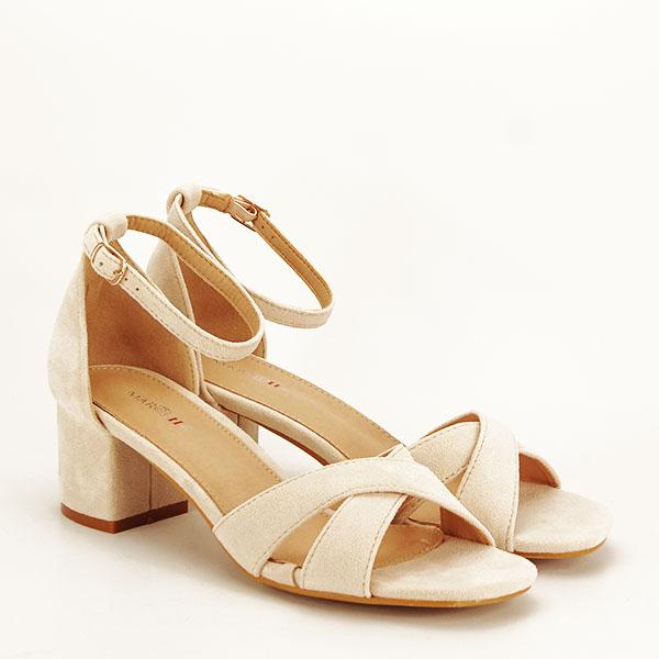 Sandale elegante bej Lidia [2]
