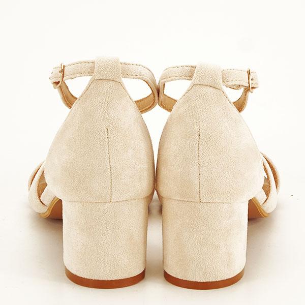 Sandale elegante bej Lidia [5]