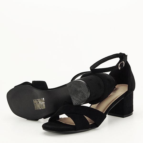 Sandale elegante negre Lidia [7]
