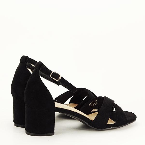 Sandale elegante negre Lidia [4]