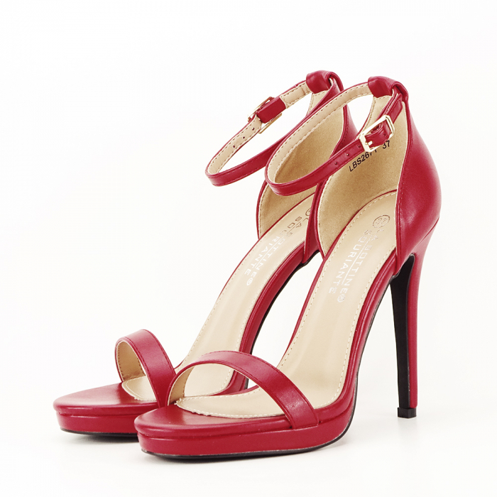 Sandale elegante rosii Dorothy [1]