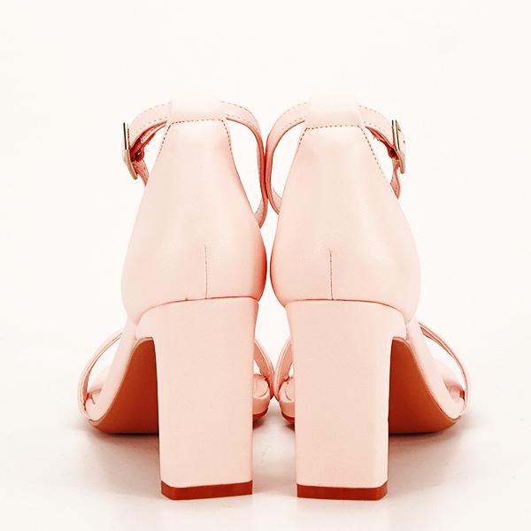Sandale elegante roz piersica Judy [5]