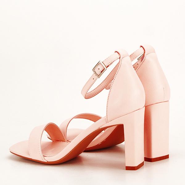 Sandale elegante roz piersica Judy [3]