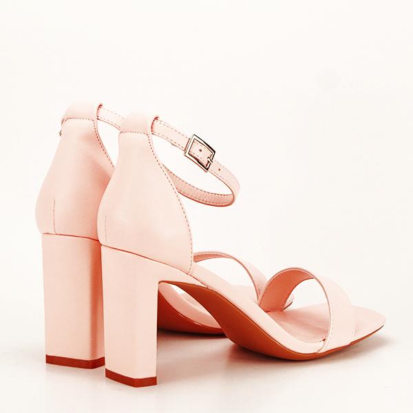 Sandale elegante roz piersica Judy [4]