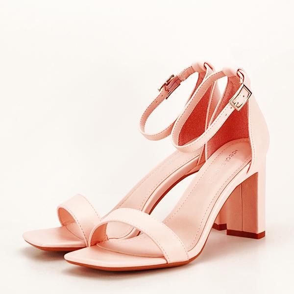 Sandale elegante roz piersica Judy [0]
