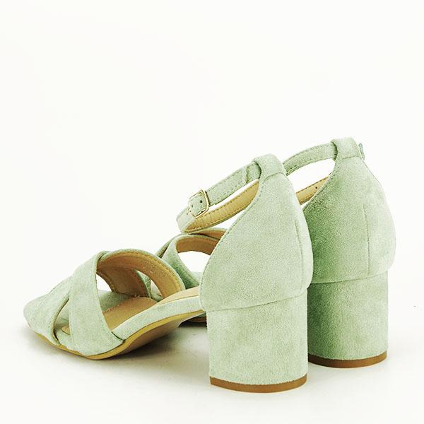 Sandale elegante verzi Lidia [3]