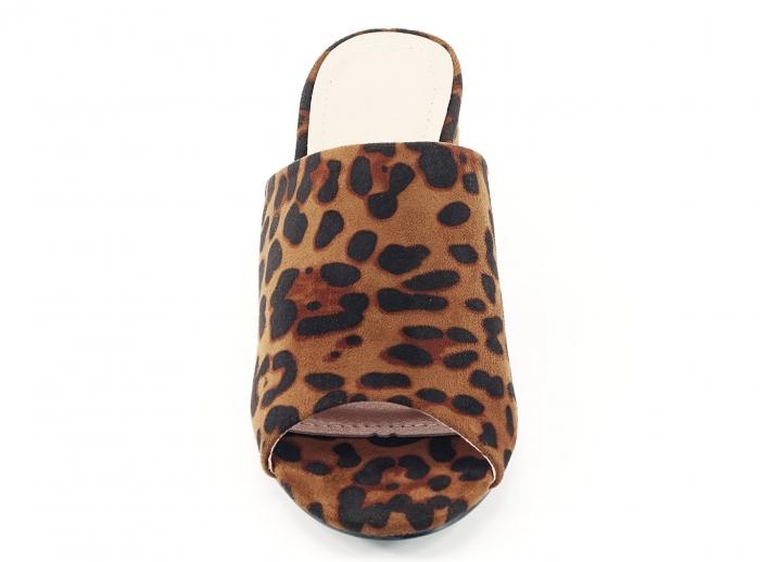 Sandale leopard print cu toc gros si mediu Anca 3
