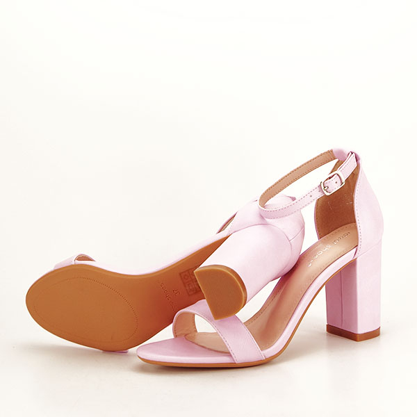 Sandale mov deschis cu toc gros Ingrid [6]