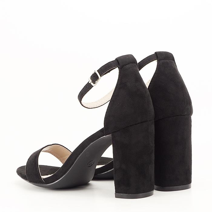 Sandale negre cu toc inalt Flavia [2]