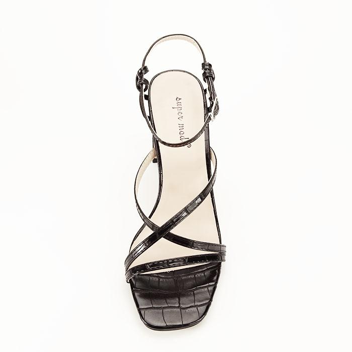 Sandale negre cu toc Jessie [3]