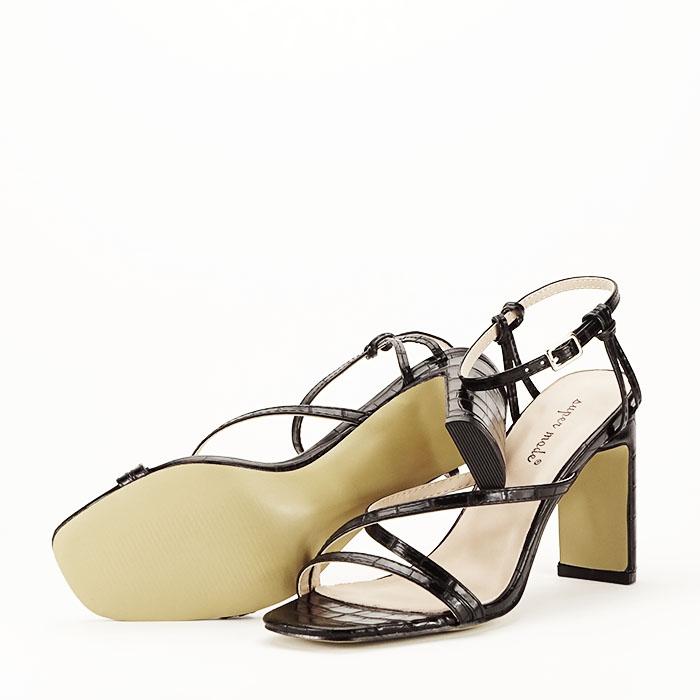 Sandale negre cu toc Jessie [6]