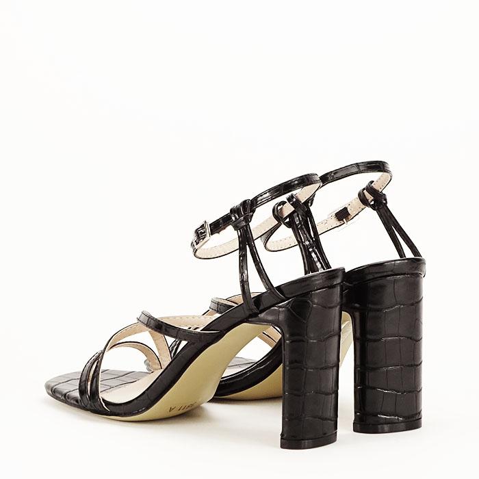 Sandale negre cu toc Jessie [8]