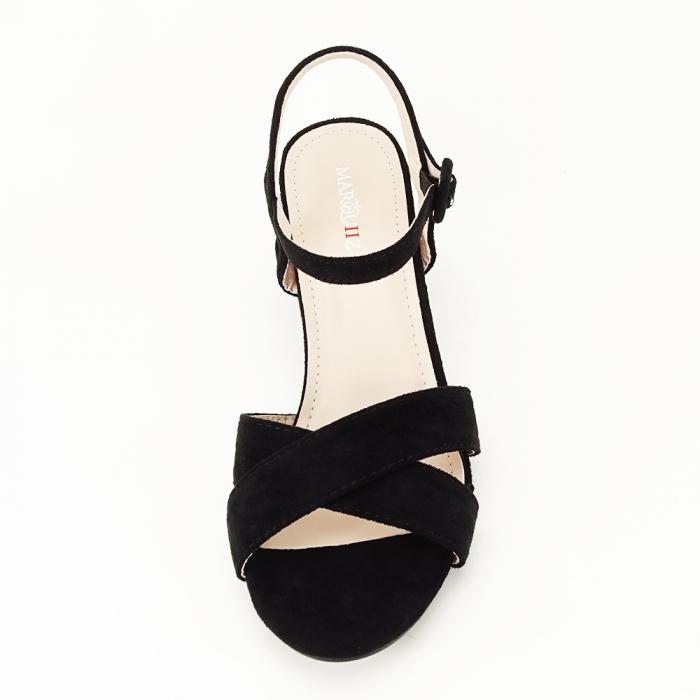 Sandale negre cu toc mic Natalia [3]