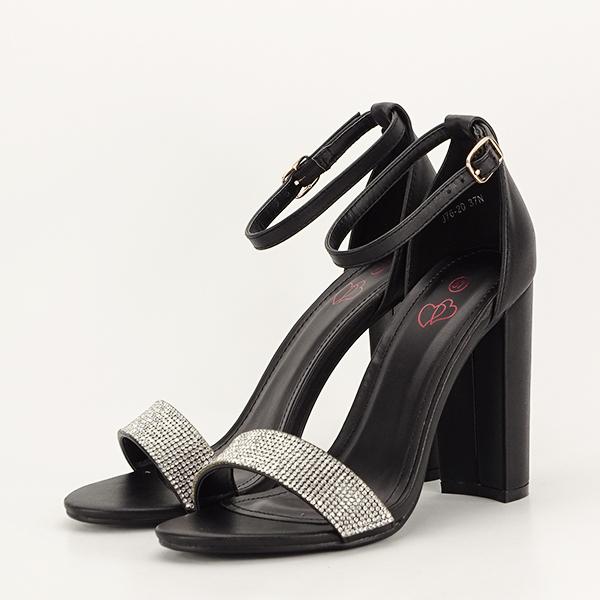 Sandale negre Diana [0]